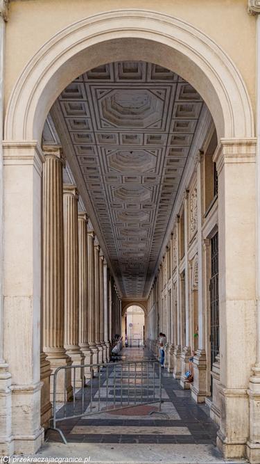 Portyk w Pałacu Wedekind