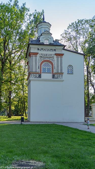 Park Radziwiłłowski wieżyczka wschodnia