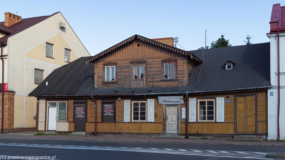 Architektura drewniana w Białej Podlaskiej