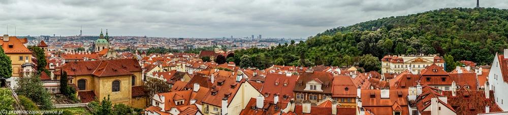 Panorama Pragi z Hradczan