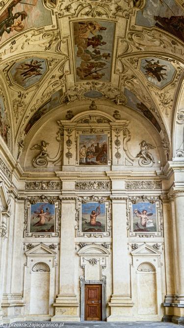 Sala Terrena - Pałac Wallensteina