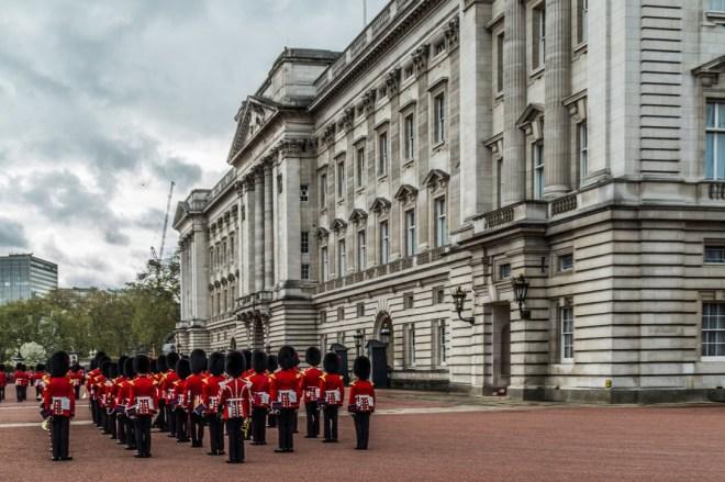 Londyn - Buckingham Palac