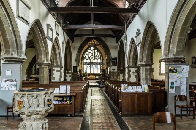 Uxbridge - Kościół św Jana Chrzciciela