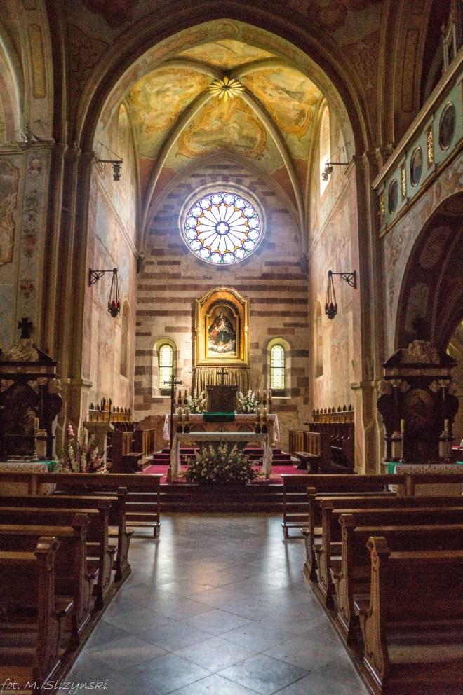 Wąchock - kościół w klasztorze cystersów