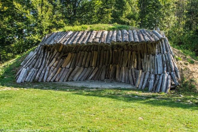 Wypał węgla drzewnego - połoniny w Bieszczadach