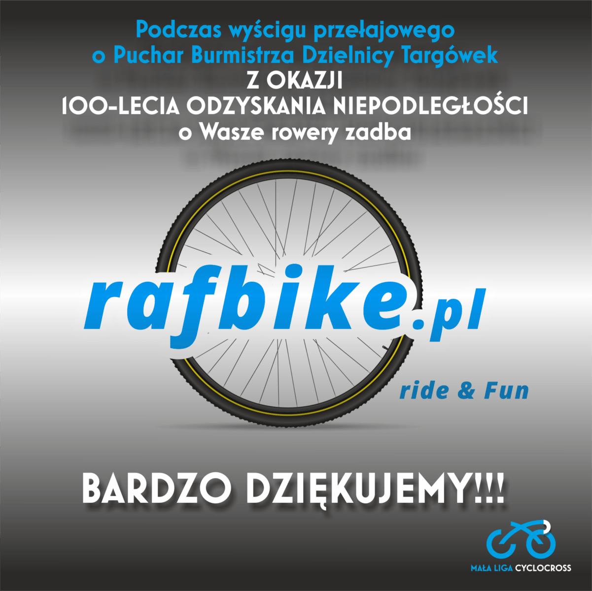 Rafbike.pl partnerem wyścigu 11 listopada