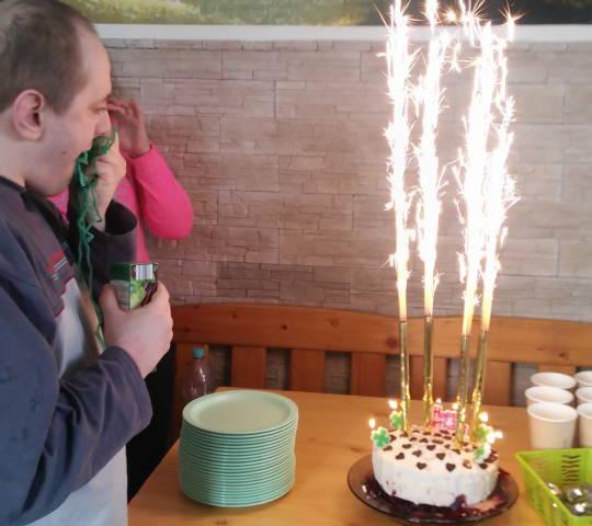40 urodziny Pawła