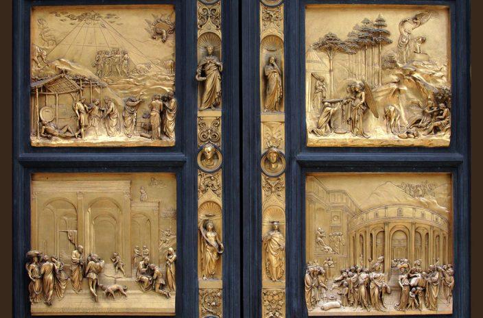 Drzwi baptysterium