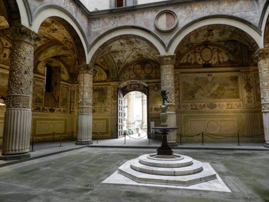 Dziedziniec Palazzo Vecchio
