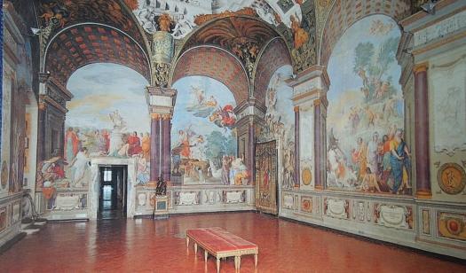 Muzeum Skarbu, freski