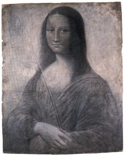 Rysunek Mona Lisy, Leonardo da Vinci