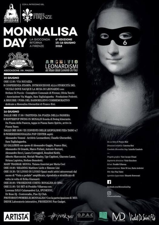 Mona Lisa day - plakat