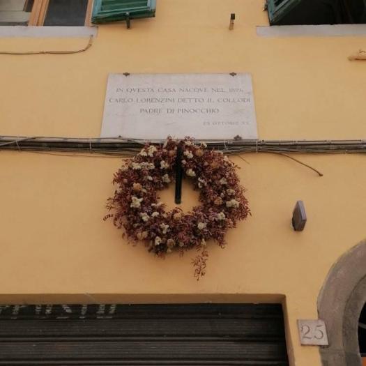 Dom urodzin Carlo Lorenzini Collodi