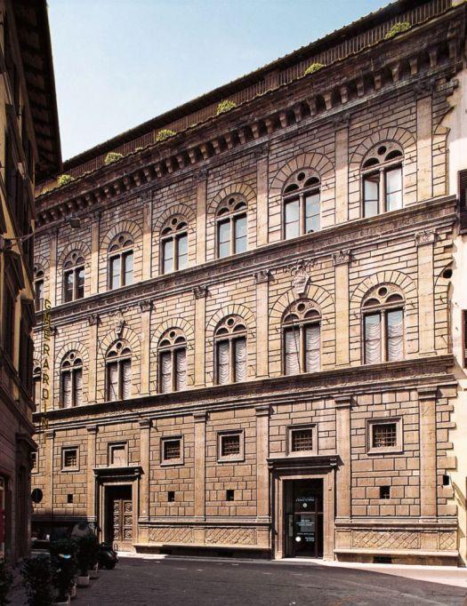 Palazzo Rucellai Florencja