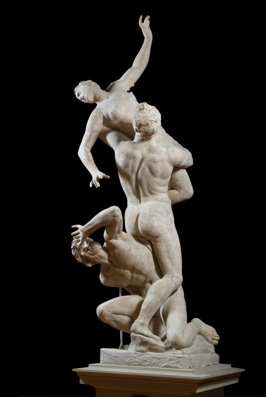 Porwanie Sabinek, Giambologna, Florencja