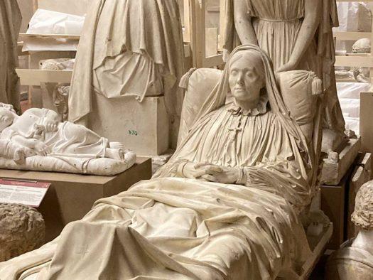 Zofia Zamojska Czartoryska, pomnik Lorenzo Bartolini, Akademia, Florencja
