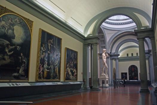 Dawid, Trybuna Akademia we Florencji