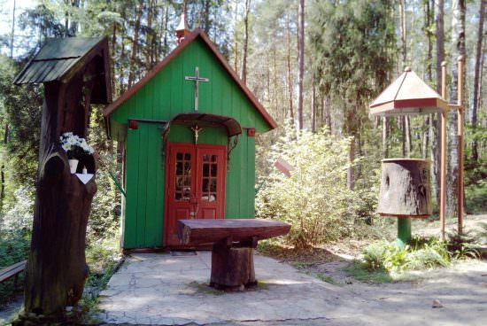Kaplica w Uroczysku Kruczek