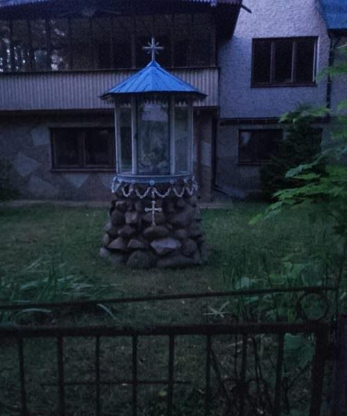 Kapliczka w Repkach