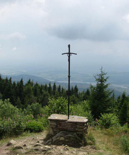 Krzyż w Bieszczadach
