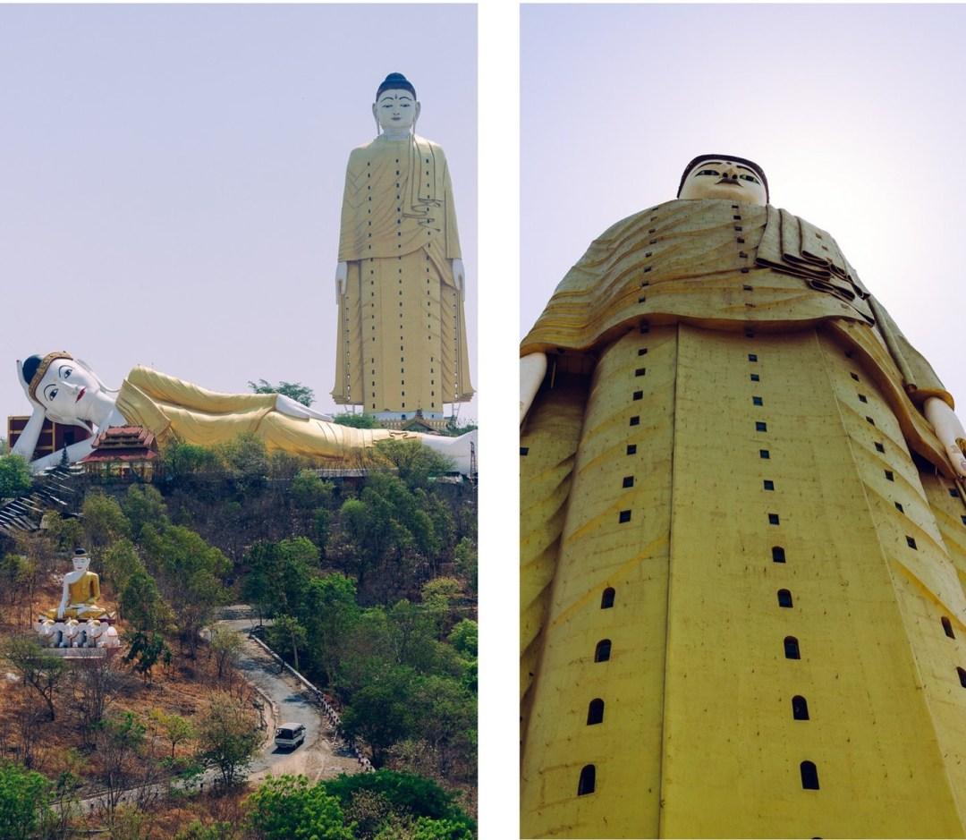 Laykyun Sekkya drugi największy budda naświecie