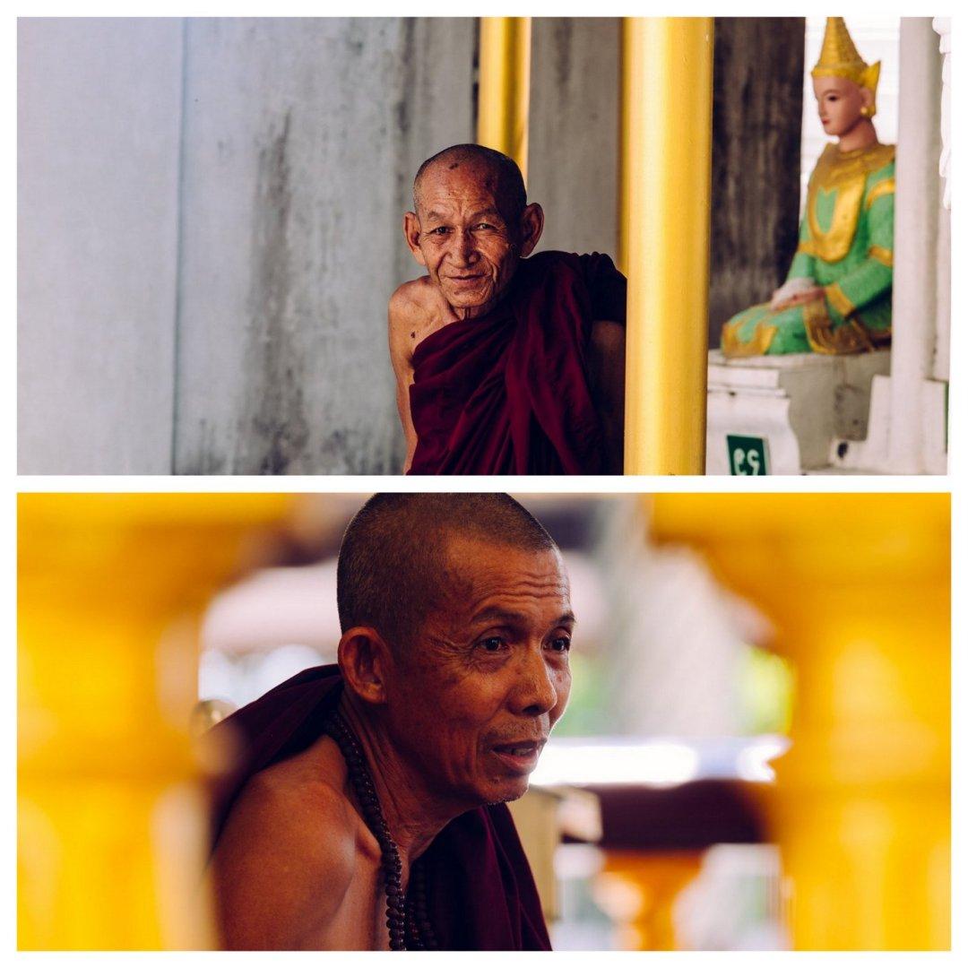 Mnisi buddyjscy Schwedagon