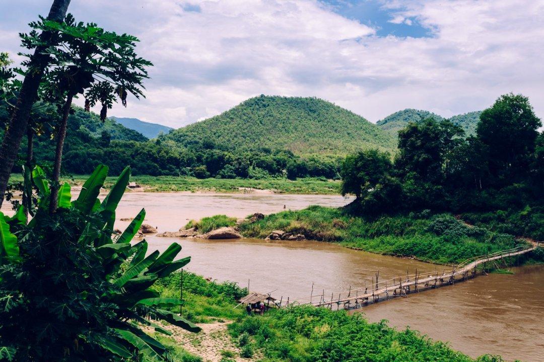 Nad pięknym, modrym Mekongiem