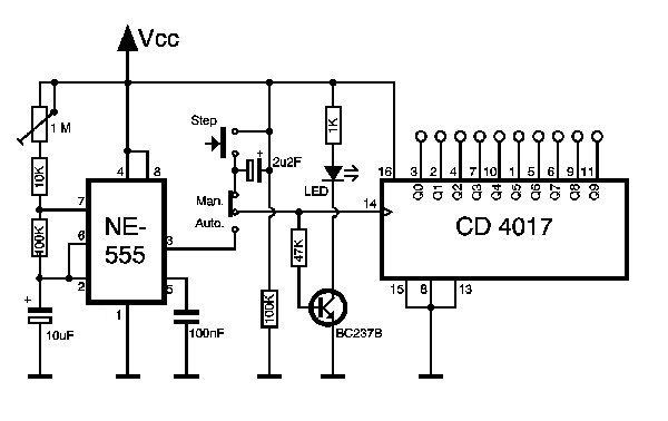 nixie tube mini tester wiring