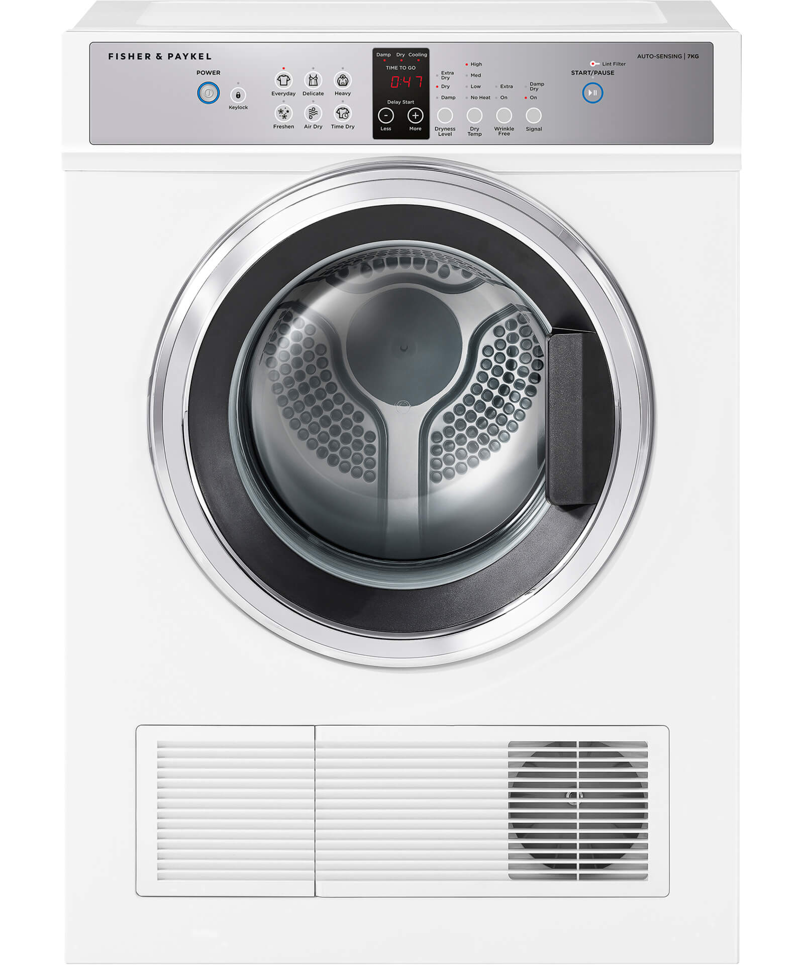 hight resolution of de7060g1 vented dryer 7kg by fisher paykel