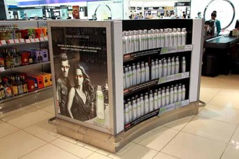 DANZKA Vodka Travel Retail Display