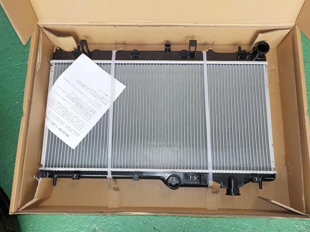 エクシーガ YA5 ラジエター交換作業