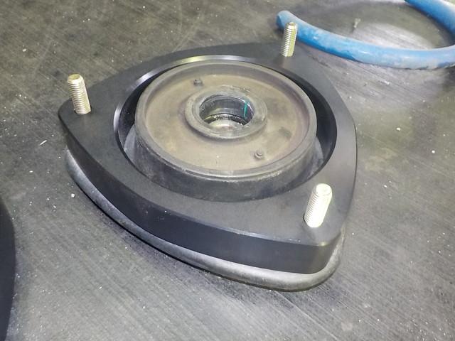 GPE VXハイブリッド スプリングノーマル戻しとスペーサー取り付け 四輪アライメント