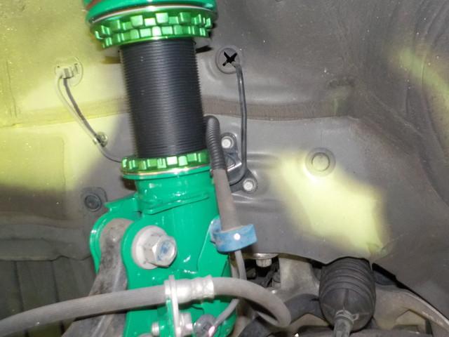 FN2 シビック タイプR TEIN車高調 交換 四輪アライメント