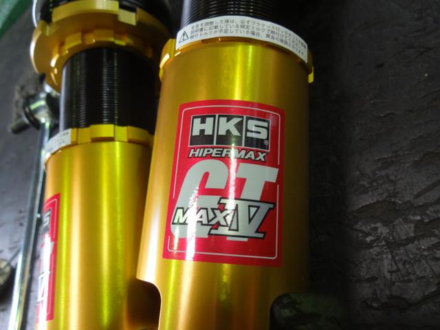 ZN6 86 HKS HyperMAX Ⅳ GTの車高調に交換 四輪アライメント