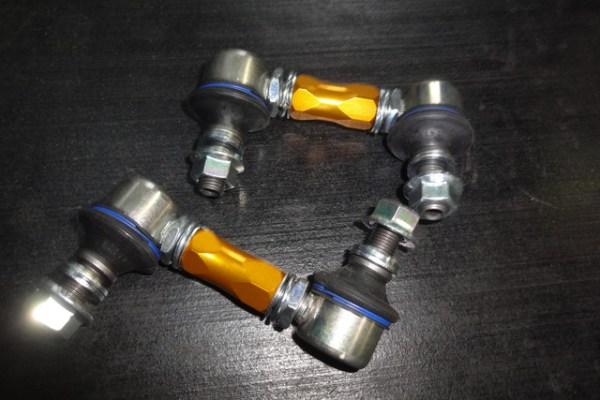 AGH30W ヴェルファイア リアスタビリンク交換 四輪アライメント