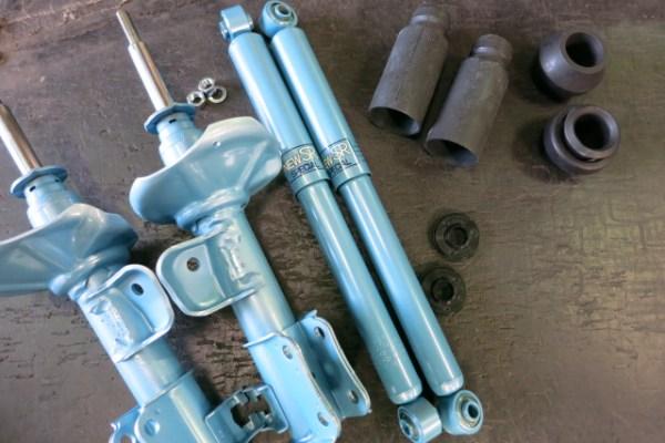 DA64W エブリーワゴン KYB NewSRスペシャルショックに交換 四輪アライメント