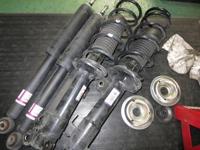 MK53S スペーシアギア タナベUP210スプリングに交換