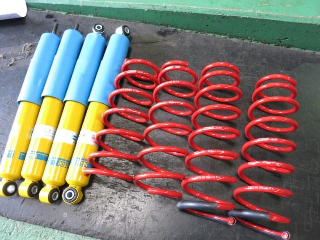 JB74W ジムニー シエラ DAMSELユーロサスペンションキット ピストンオリジナルビルシュタインステアリングダンパー 四輪アライメント