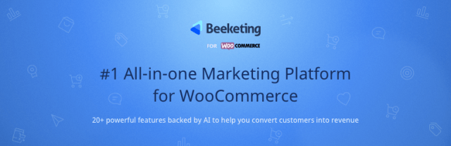 Beeketing for WooCommerce – Marketing Automation to Boost Sales