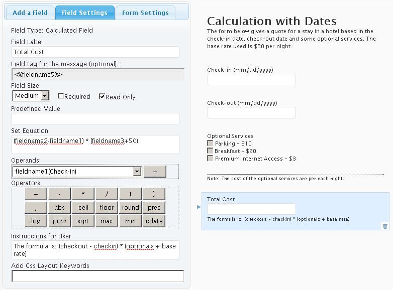 Calculated Fields Form   WordPress.org