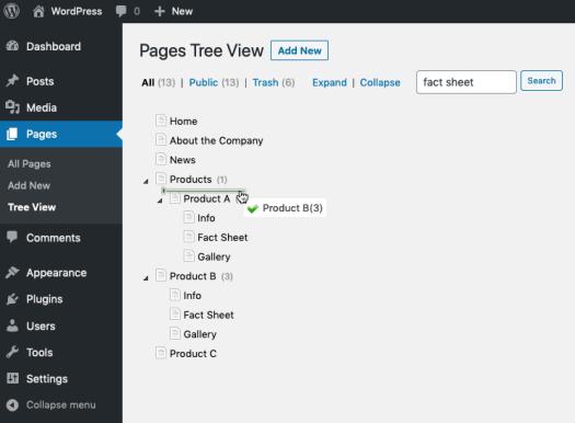 cms-tree-page-view screenshot 3