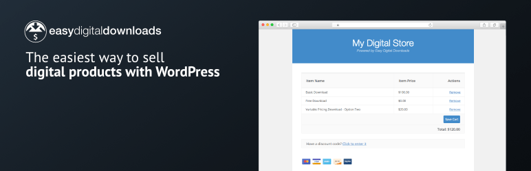 Easy Digital Downloads – Simple eCommerce for Selling Digital Files