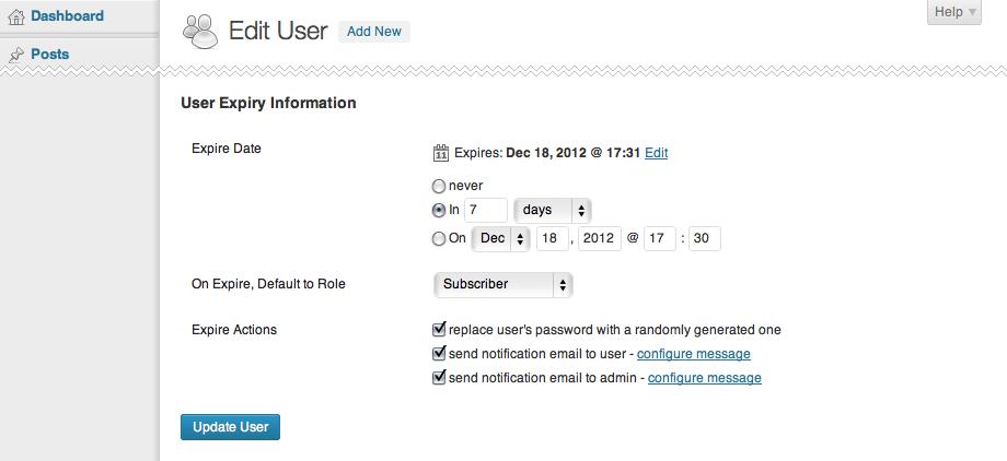 Expired User