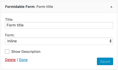 Formidable Forms Builder for WordPress – Contact Forms, Surveys & Quiz Forms Plugin Screenshot