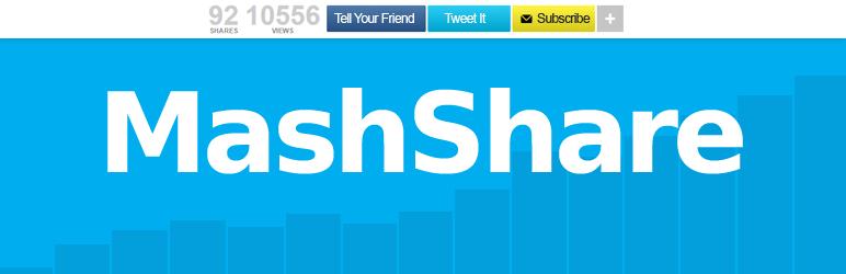 Social Media Share Buttons | MashShare