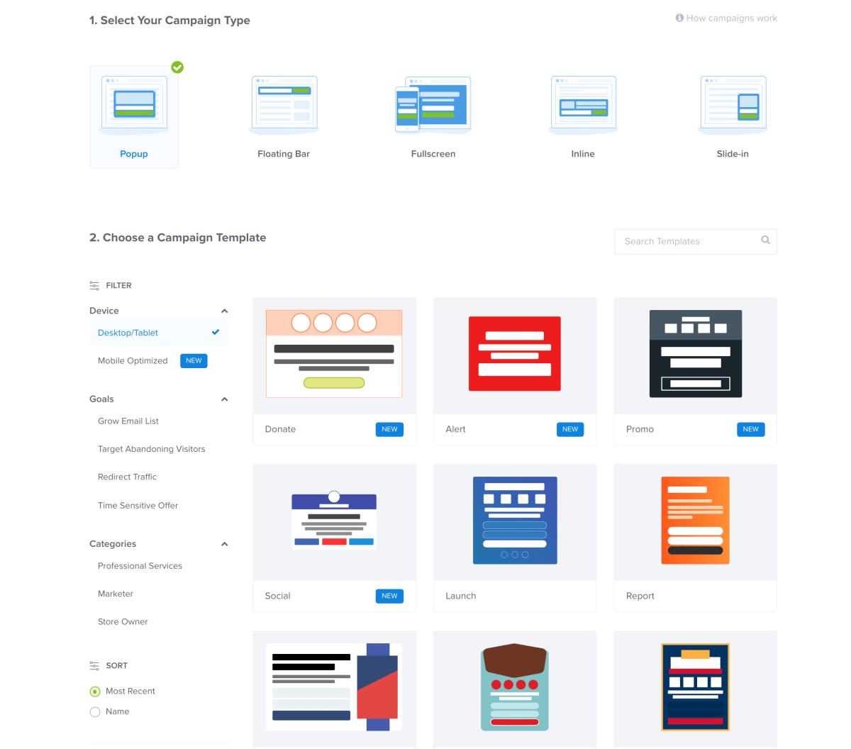 Popups by OptinMonster – Best WordPress Lead Generation Plugin Screenshot
