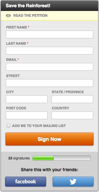 SpeakUp! Email Petitions   WordPress.org
