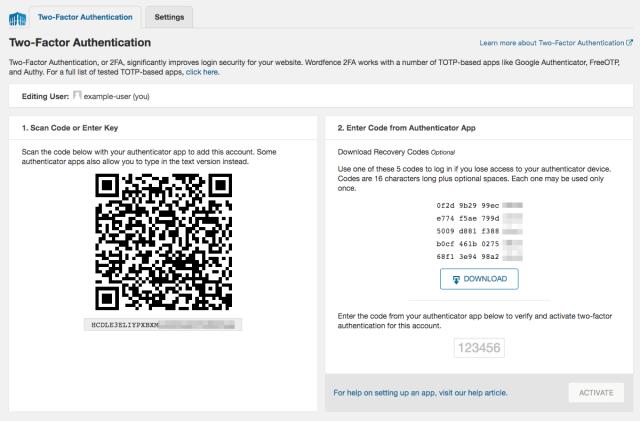 Wordfence Security – Firewall & Malware Scan Screenshot