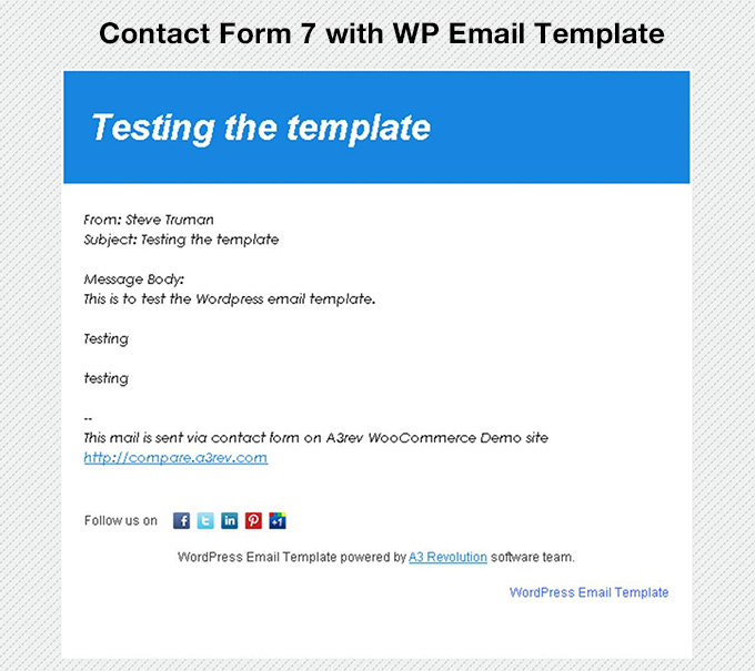 To send a test email directly from the editor: Wp Email Template Extension WordPress WordPress Org Francais