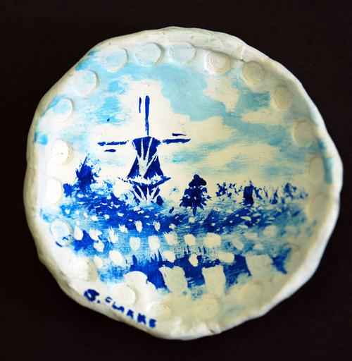 Delft Blue - Mr. Clarke